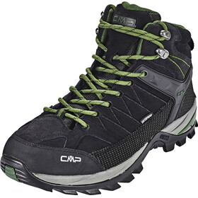 CMP Campagnolo Rigel Mid Trekking WP Shoes Men black-loden